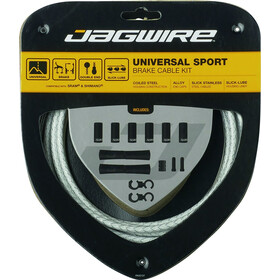 Jagwire Sport Universal Brake Cable Set for Shimano/SRAM, white